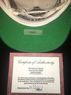 Troy Aikman Dallas Cowboys Autographed Super Bowl Hat With Display Case & COA