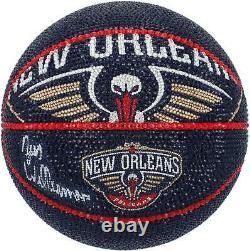 Zion Williamson Pelicans Basketball Display Fanatics Authentic COA Item#10873589