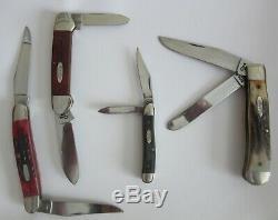 1990 Case XX Ten Dot 4 Ensemble De Couteaux Mint Noyer / Affichage Verre Coa 1 500 Htf