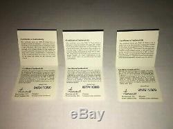 2009 15 $ De Droits Sterling Vignettes Silver 3 Set Coin En Cas D'affichage Coas