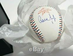 Aaron Juge Signé 2017 All Star Baseball Fanatics Mlb Holo Coa Et Cas D'affichage