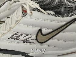 Andre Agassi Autographed Nike Shoes In Display Case Nike Zoom Air Coa Psa Dna