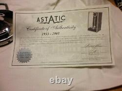 Astatic Final Edition Silver Eagle Ser # 2417 Avec Vitrine Et Coa