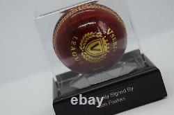 Ben Foakes Signé Autograph Cricket Ball Display Case Angleterre Sport Aftal Coa