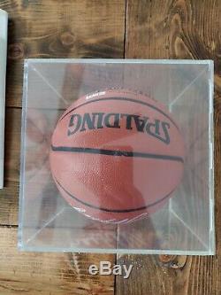 Ben Wallace Autographié Officiel Spalding Basketball En Cas D'affichage Avec Coa