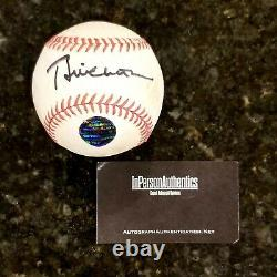 Bill Clinton Hand Signed Baseball & Clear Display Case, Autograph Includes Coa