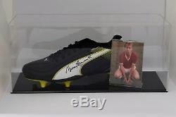 Bobby Charlton Présentoir De Chaussure De Foot Autographiée Et Signé Par Manchester United Coa