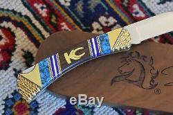 Buck 110 David Yellowhorse Kit Carson Couteau Mint Coa & Noix Affichage Box Case