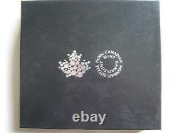 Canada 2015 Preuve En Argent 20 $ Casé Avec Coa 66 De 15000 & Cadre D'affichage En Bois