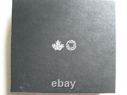 Canada 2016 Preuve D'argent 20 $ Boîtier Avec Coa 366 De 15000 Et Cadre D'affichage En Bois