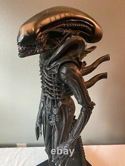 Coolprops Sideshow Giger Alien 1/3 Scale Maquette Avec Vitrine & Coa