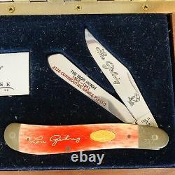 Couteau De Cas En Édition Limitée Lou Gehrig Avec Vitrine Et Coa