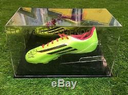 Daley Aveugle Signé Football Boot Manchester United Ajax Hollande Présentoir Coa