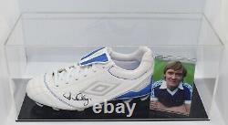 David Hay Signé Autograph Football Boot Display Case Chelsea Football Coa