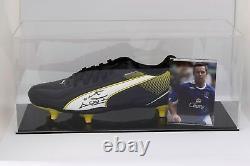 David Weir Signé Autograph Football Boot Display Case Everton Coa