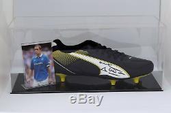 David Weir Signé Autograph Football Boot Display Case Rangers Coa