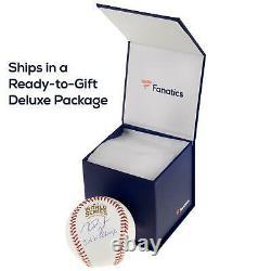 Derek Jeter Mlb Ny Yankees Signé Baseball Avec Vitrine Steiner Sports Coa