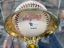 Derek Jeter Signée Dédicacées 2000 All-star Game Baseball Présentoir Coa