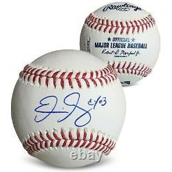 Eric Gagne Autographié 2003 Cy Young Signé Baseball Jsa Coa Avec Boîtier D'affichage 1
