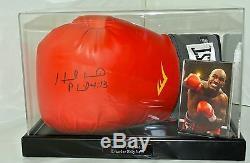 Evander Holyfield Signé Autograph Gant De Boxe Présentoir Sport & Proof Coa