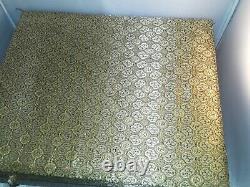 Exquise Cheval Volant De Gansu Bronze Statue Golden Silk Display Case Chine Coa