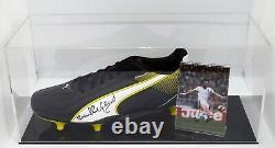 Frank Lampard Sr Signé Autograph Football Boot Display Case West Ham Utd Coa