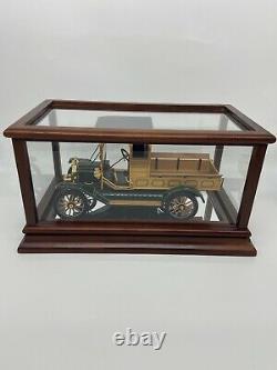 Franklin Mint 1913 Ford Modèle T Pick-up Camion 116 Échelle Avec Coa Et Boîtier D'affichage