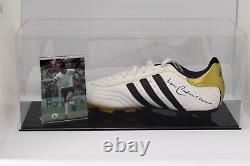 Franz Beckenbauer Signé Autograph Football Boot Display Case Allemagne Coa