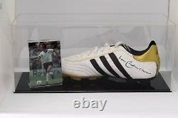 Franz Beckenbauer Signed Autograph Football Boot Display Case Allemagne Coa