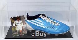Gary Mcallister Signé Autograph Football Boot Display Case Leeds Utd Aftal Coa