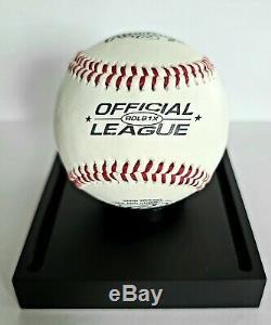 George Hw Bush Signé À La Main Autographed Baseball Avec Coa Et Cas D'affichage Inclus