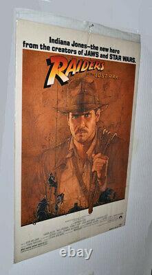 Harrison Ford Signed Indiana Jones Hat, Original Poster, Dvd, Coa, Display Case