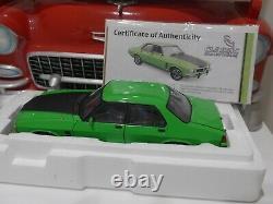Holden Hx Monaro Gts W Coa /1238 Sur 2500+118 Échelle Led Display Case Rrp 90 $