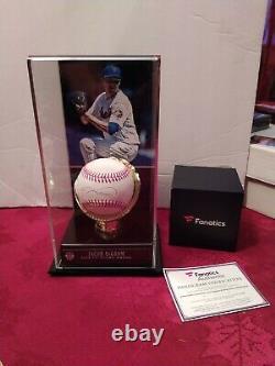 Jacob Degrom A Autographié Le Baseball Avec Display Case. Cao Fanatique Et Mlb