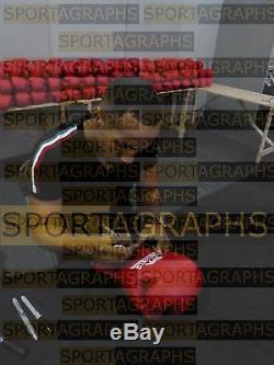 James Degale Signé Autograph Gant De Boxe Vitrine Sport Signature Proof Coa
