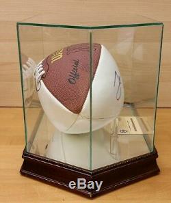 Jerry Rice, Football Autographié Des 49ers De San Francisco, Signé Avec Vitrine Et Certificat D'authenticité