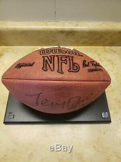 Jerry Rice Sf 49ers Authentique Ballon De Football Autographié Par Wilson Avec Présentoir Coa