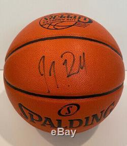 Jj Redick Autographié Basketball W Coa, Affichage Plate Et Nom