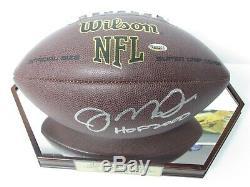 Joe Montana, 49ers Sf, A Signé Avec Le Coa L'officiel Football NFL Officiel