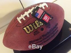 John Elway Broncos De Denver Signé Wilson Co / Football / Vitrine