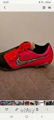 Jordan Henderson Liverpool Signed Boot In Display Case With Lfc Coa