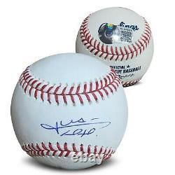Juan Soto Autographié Mlb Signé Baseball Beckett Coa Avec Boîtier D'affichage