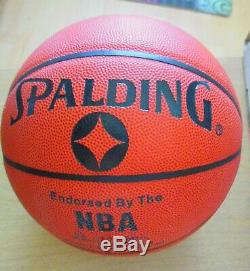 Julius Dr. J Erving Basketball Auto Coa Psa / Adn Withdisplay Cas