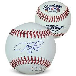 Justin Turner Autographié Mlb Signé Baseball Psa Dna Coa Avec Boîtier D'affichage Uv
