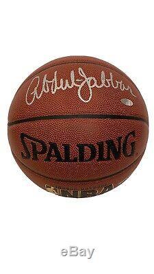 Kareem Abdul Autographié De Basket-ball Withcoa, Afficher La Plaque Et Nom