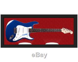 Keith Richards Des Rolling Stones Signé Display Guitar Case Uacc Rd Coa Aftal