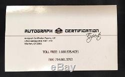 Ken Griffey Jr. Gant De Baseball Mini Avec Signature & Coa Signé Rawlings! Rare