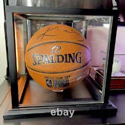 Kobe Bryant A Signé Auto Autographied Basketball Psa/adn Coa Et Boîtier D'affichage