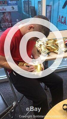 Liam Smith Signé Gant De Boxe Costaud Champion Du Monde Présentoir Preuve Coa