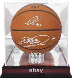 Luka Doncic Mavericks Basketball Display Fanatique Authentic Coa Item#11397103
